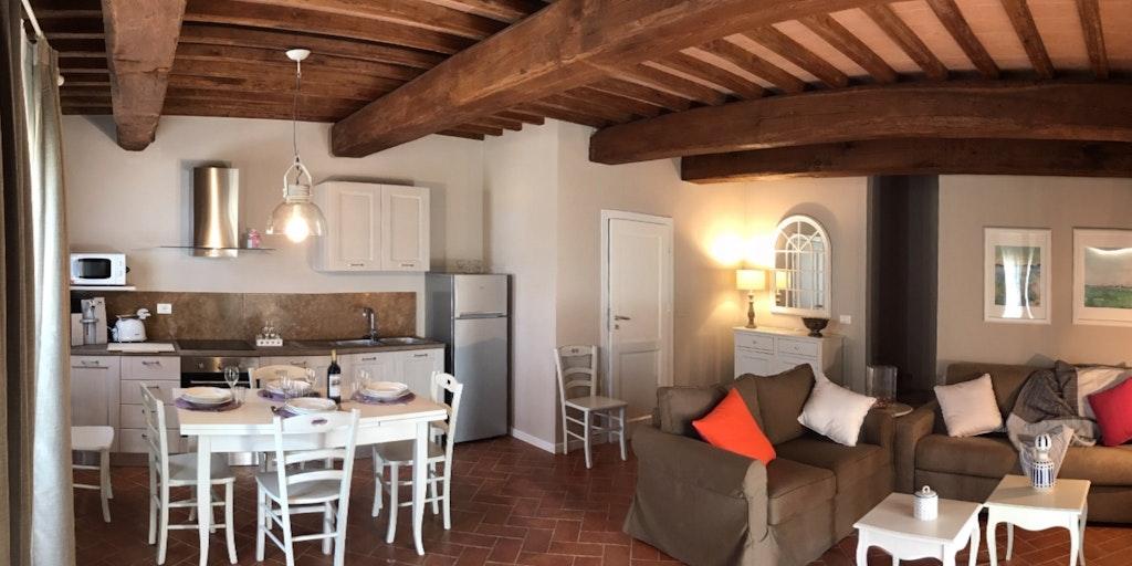 Stuen i lejlighed Papavero