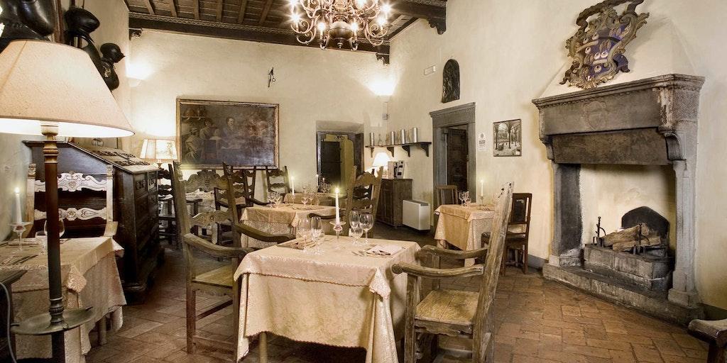 Restauranten i den gamle villa