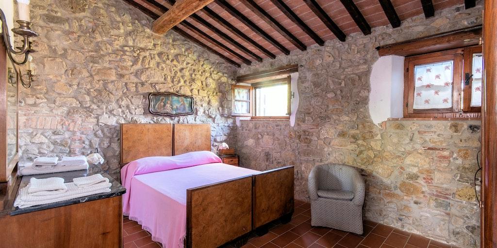 Lejlighed Carraia, soveværelse