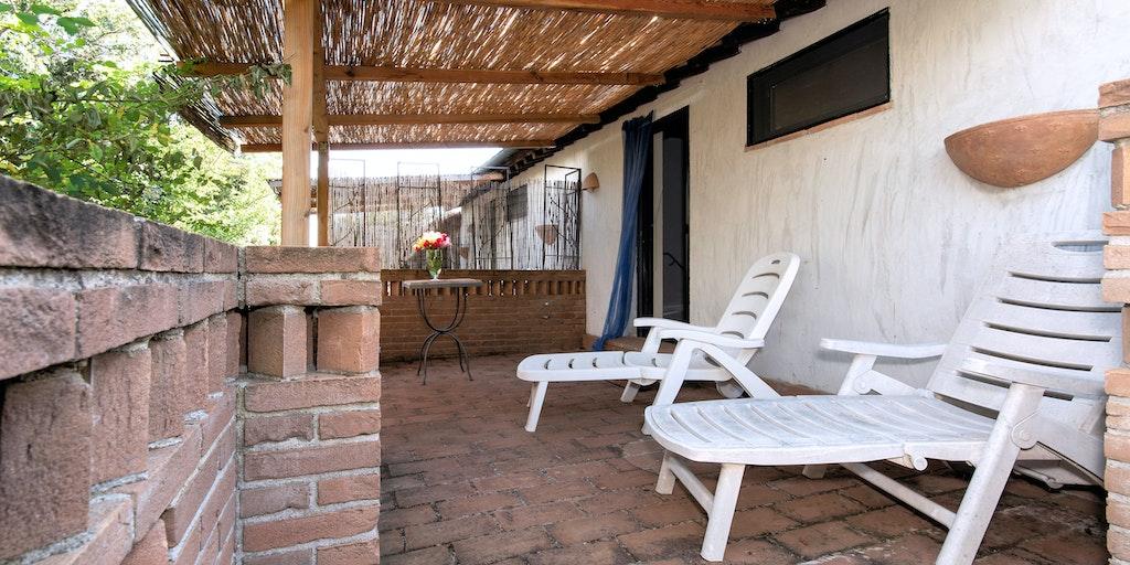 Terrassen til lejlighed Cinghiale