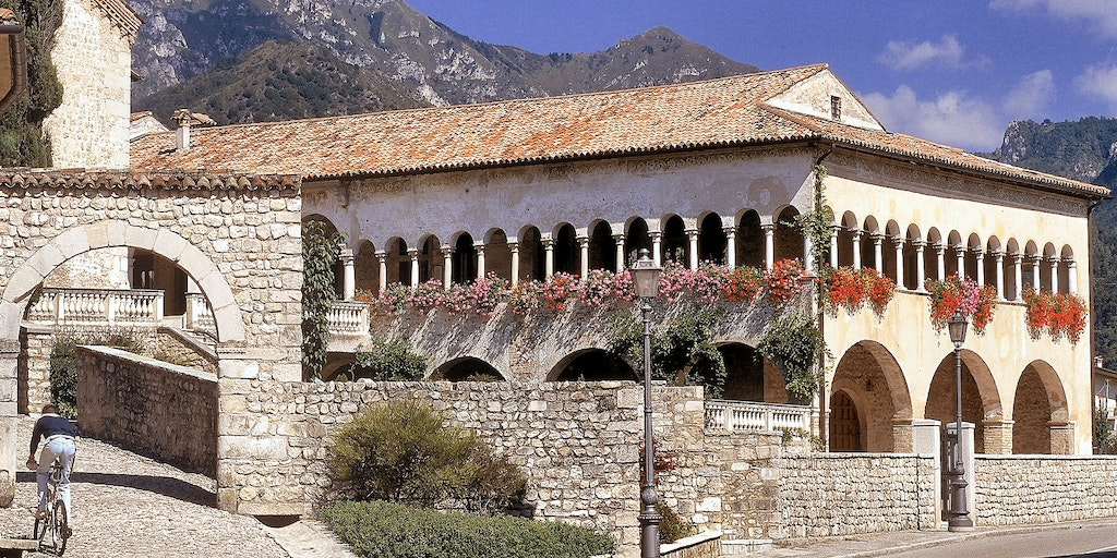 The old monastery in Follina