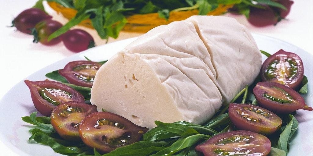 Den berömda mozzarella di bufala