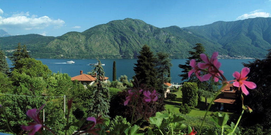Lake Como's dramatic landscape resembles the Norwegian fjords