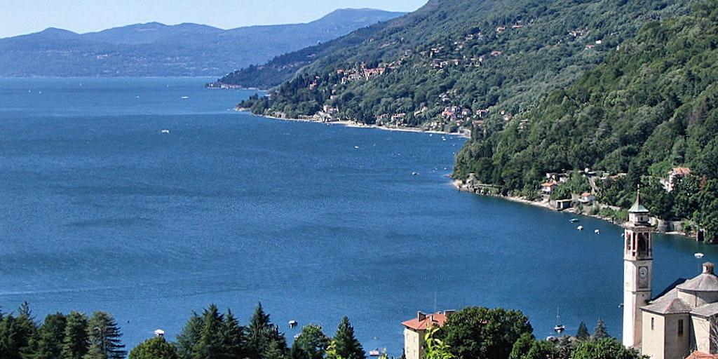 Lake Como offers many breathtaking views