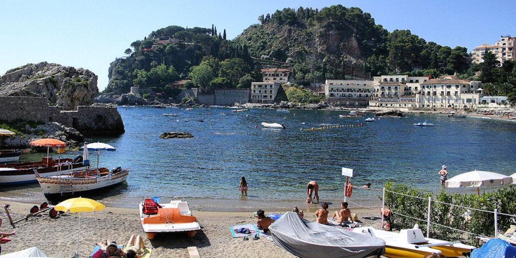 Die Bucht von Mazzarò