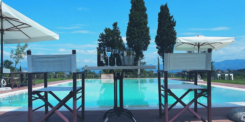Swimming pool at Borgo dei Lunardi