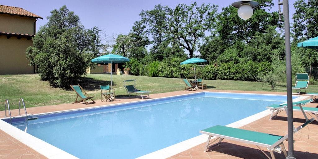 Swimming pool at Bosco Verde