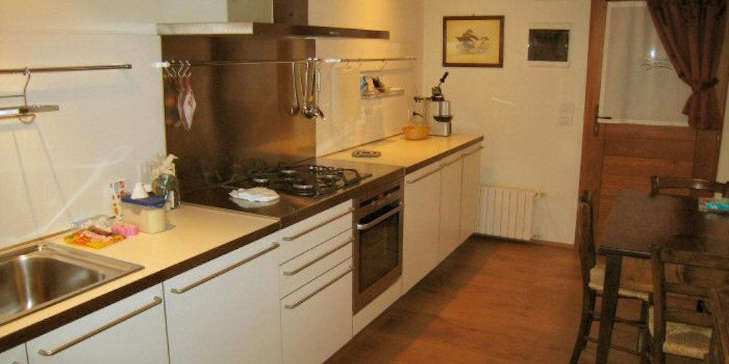 <p>Kitchen in apartment Vigneti</p>