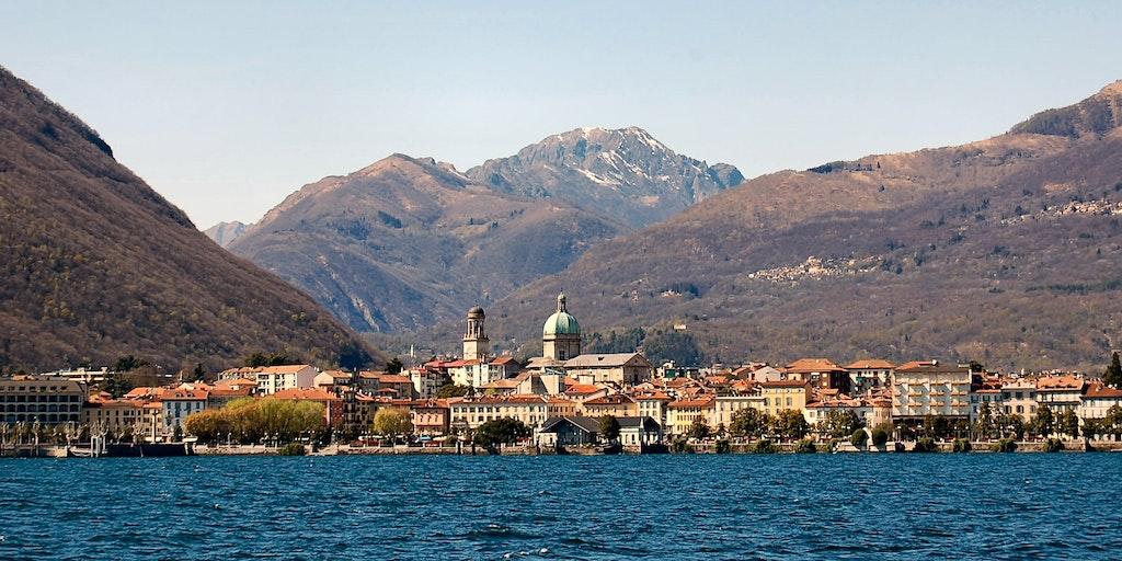 Die Hauptstadt am Lago Maggiore ist Verbania