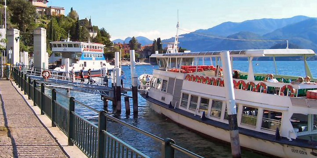 Varenna is well connected to the rest of Lake Como via the waterway