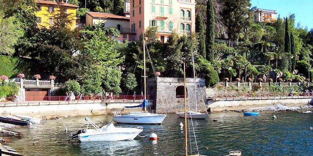 Varenna has a beautifully landscaped lakeside promenade