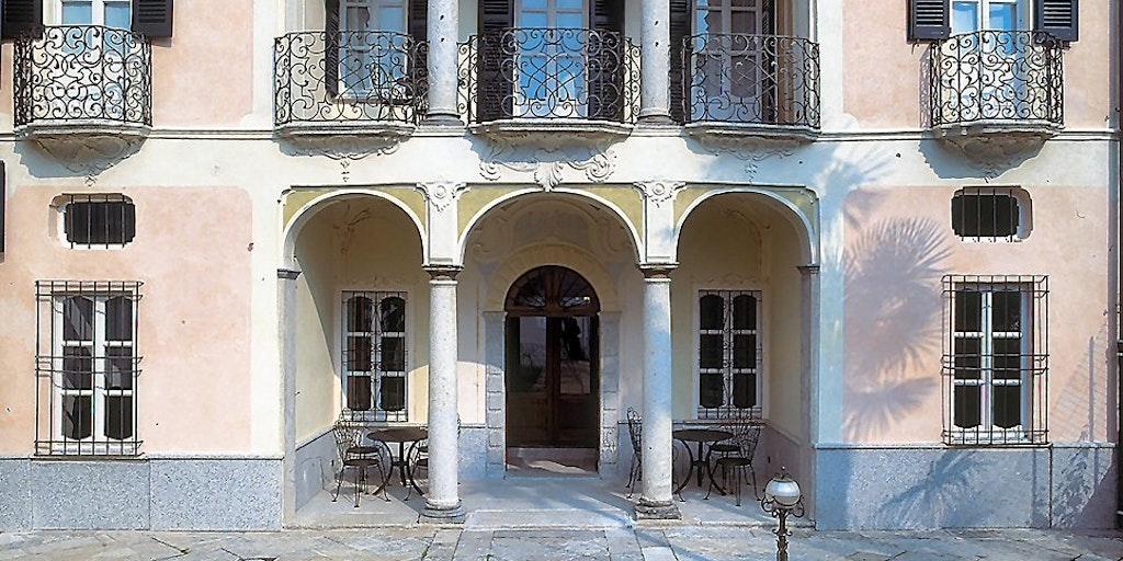 Die herrschaftliche Villa Gippini