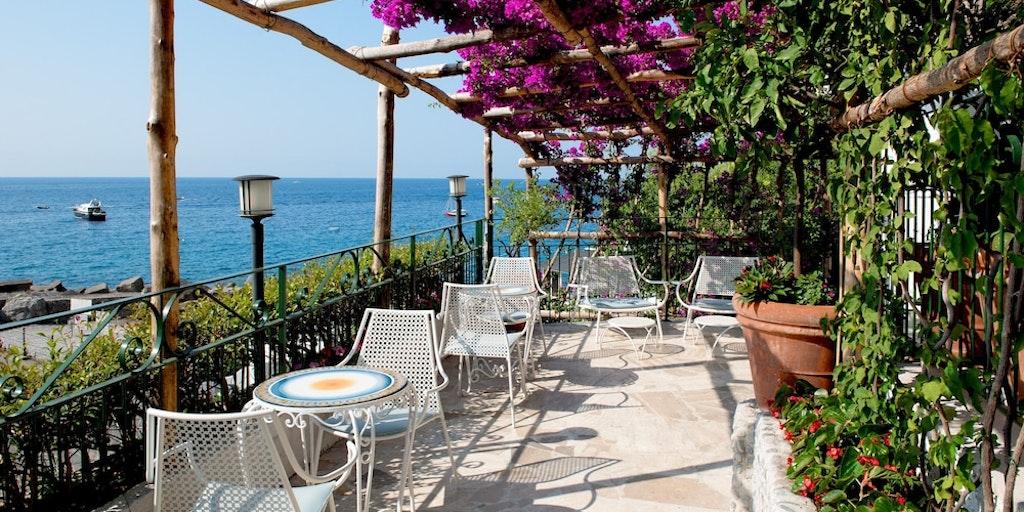Amalfi byr på vakre landskap