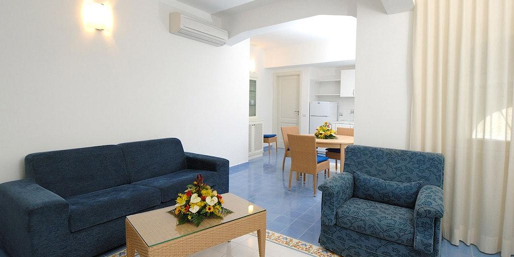 Eksempel på lejlighed m. 2 soveværelser