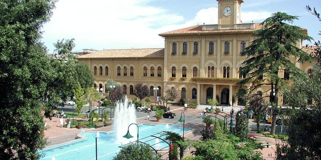 Les gares en Émilie-Romagne sont toute de la fin XIXè