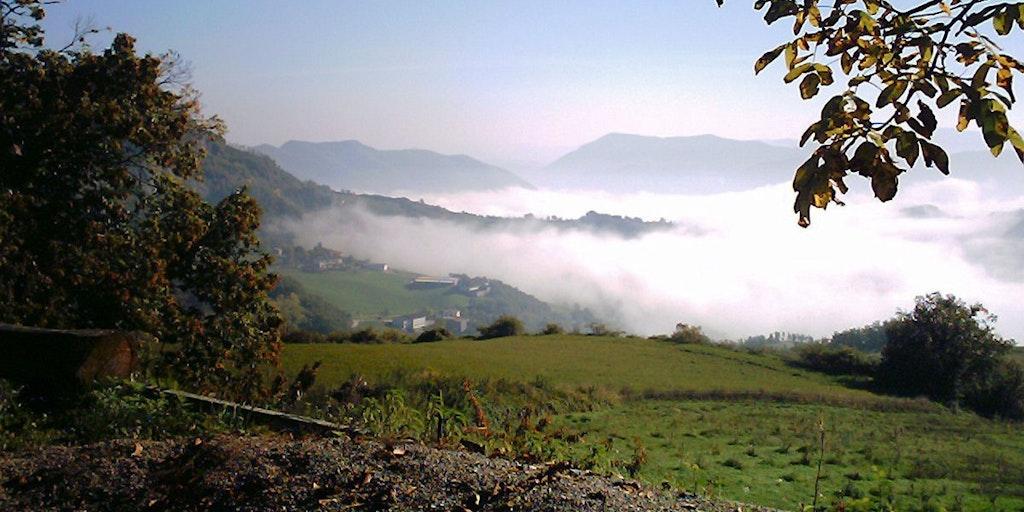 Les Monts Apennins entre la Toscane et l'Emilie-Romagne