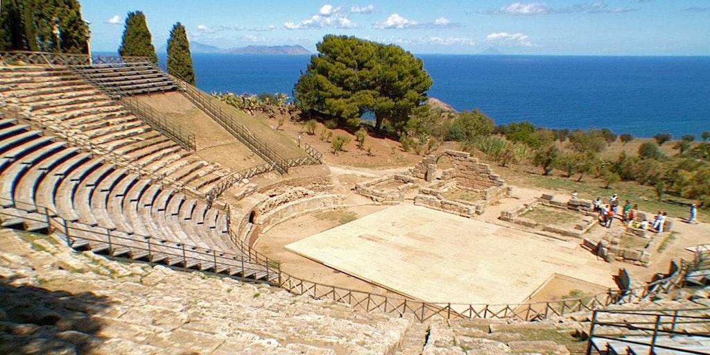 Le théâtre antique de Tindari