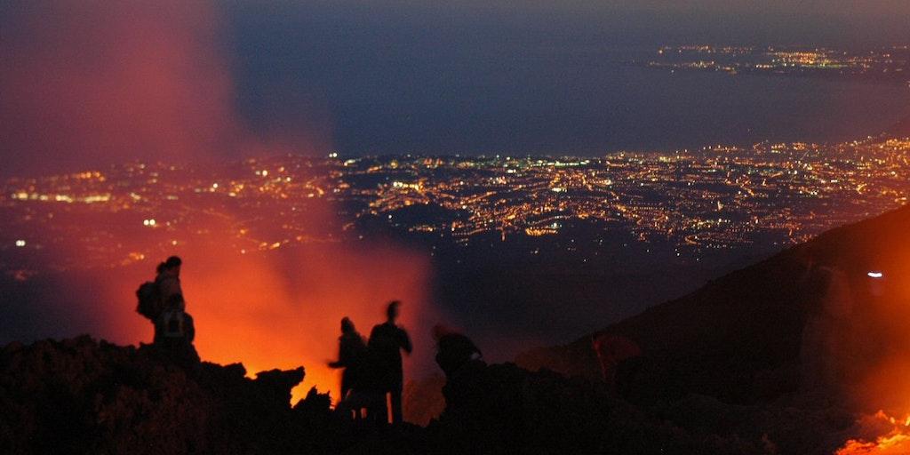 Der Vulkan Ätna
