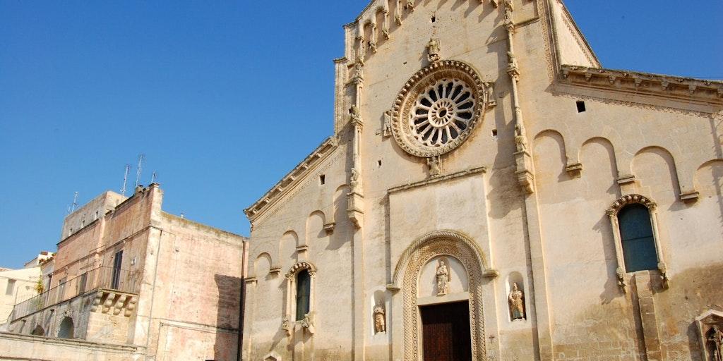 La cathédrale romane de Matera