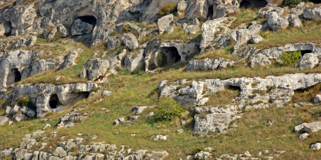 Matera caves