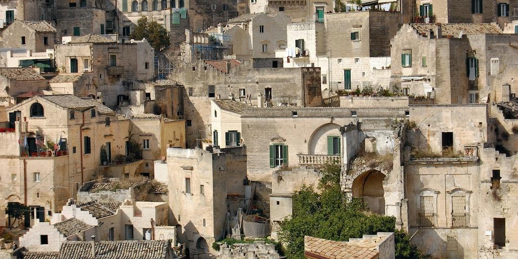 I Sassi di Matera in Basilicata
