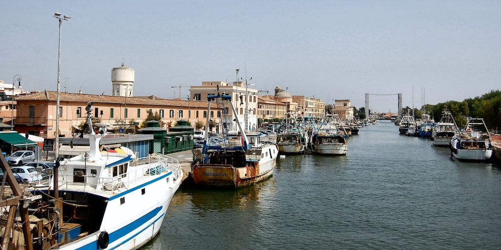 Canal of Fiumicino