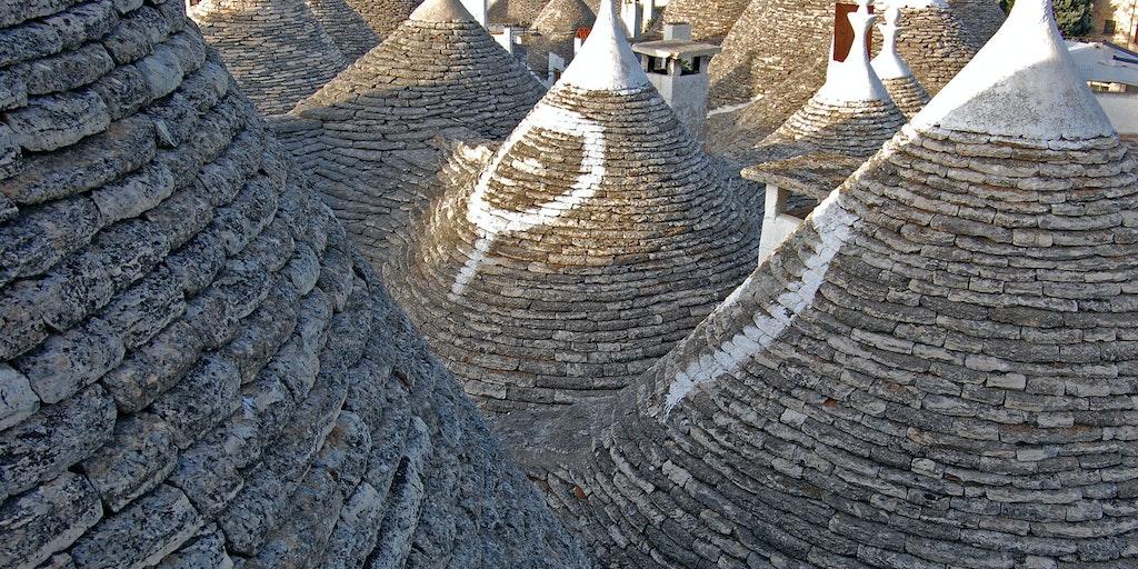Alberobello et ses typiques <em>trullo</em>