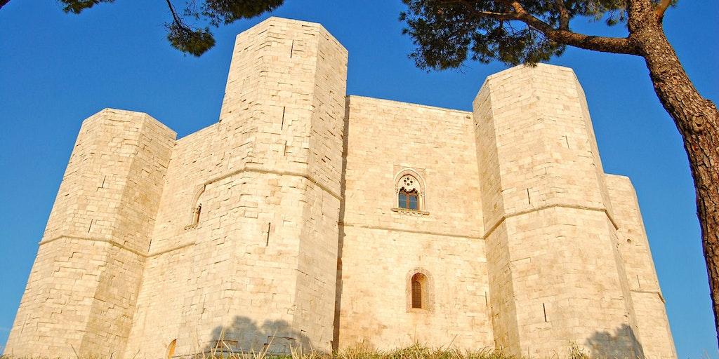 Castel del Monte - included in the UNESCO list