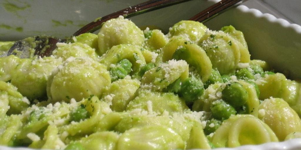 Orecchiette - the famous pasta from Puglia