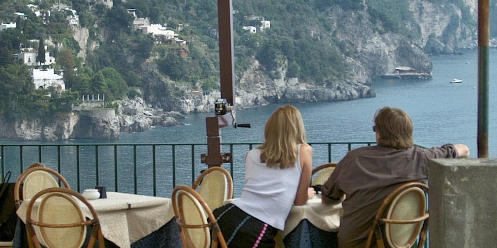 Enjoy the beautiful views from the city centre of the Amalfi Coast