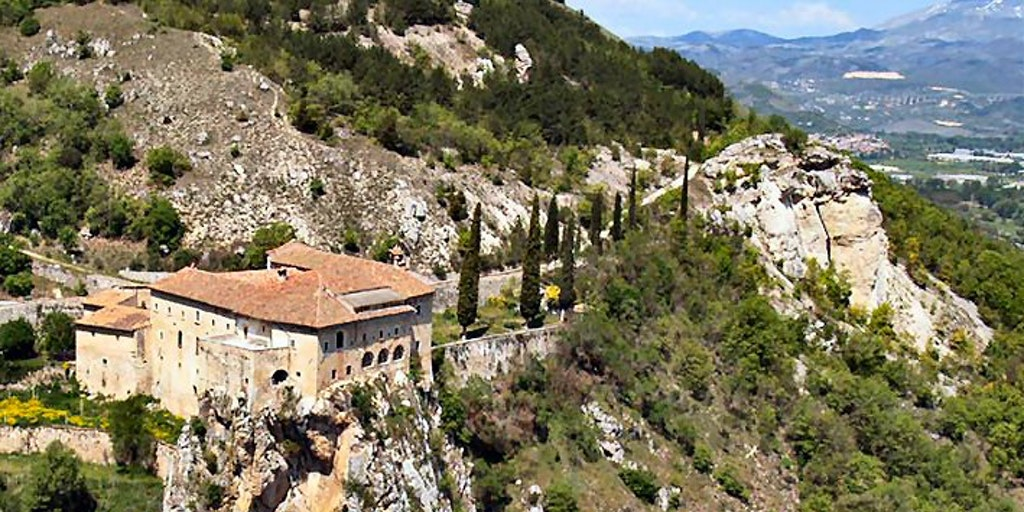 Le monastère Convento di S. Angelo d'Ocre