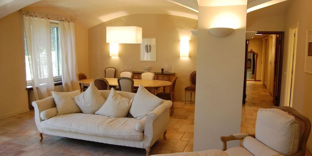 Exempel på lägenhet i villa
