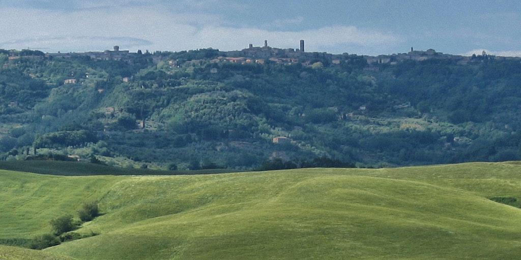 Volterra as seen from a distance