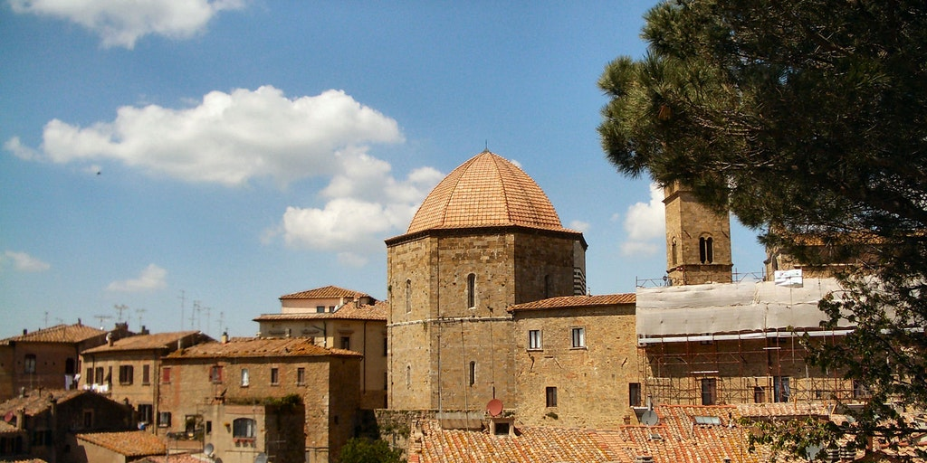 Baptistery in Volterra