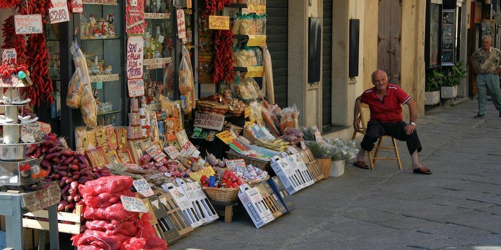 Delicatessen in Tropea