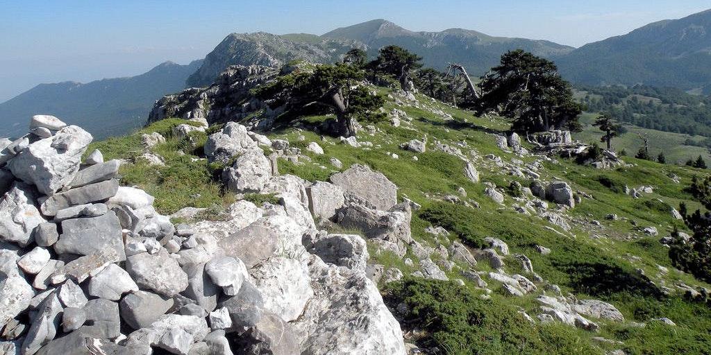 Calabria is a mountainous region