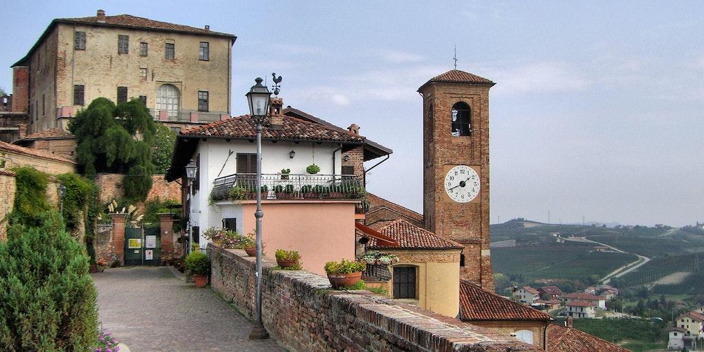 The village of Castellinaldo