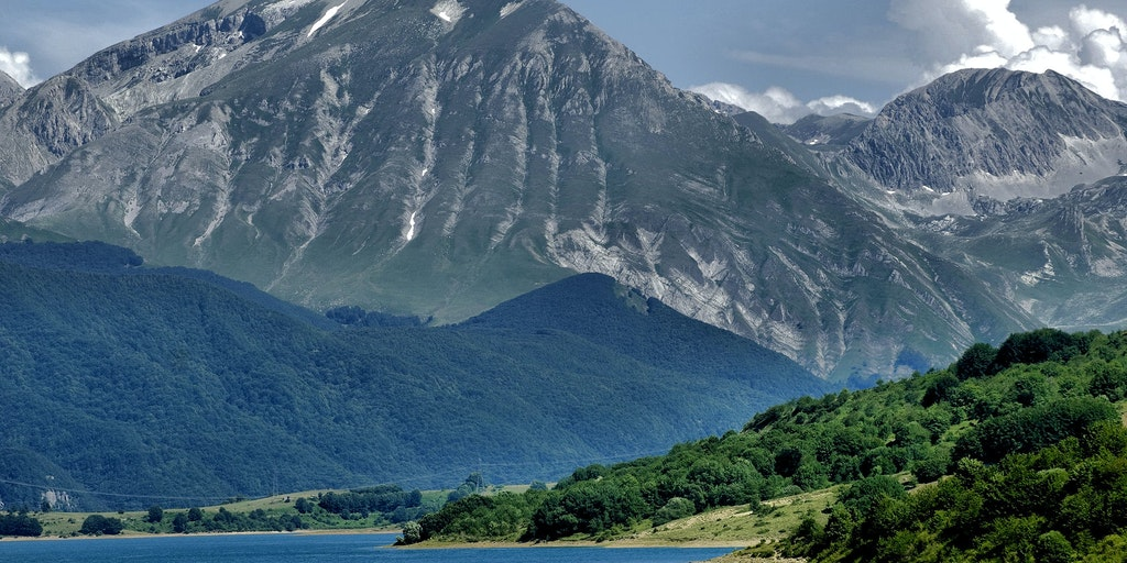 Magnificent nature in Abruzzo, which has several national parks