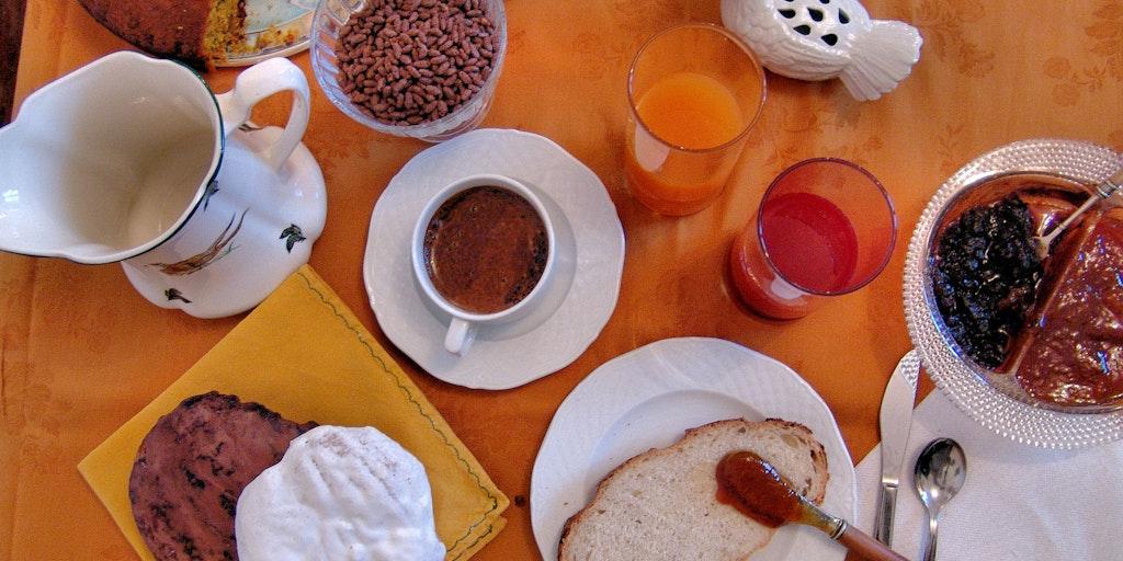 Frokostmåltid i Abruzzo