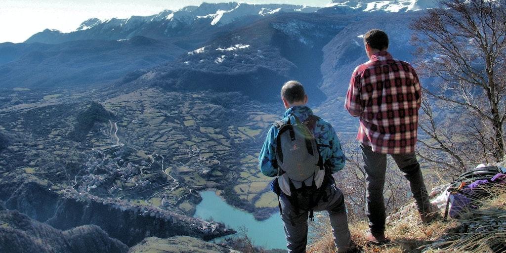 Det är upplagt för aktiv semester i Abruzzos nationalparker