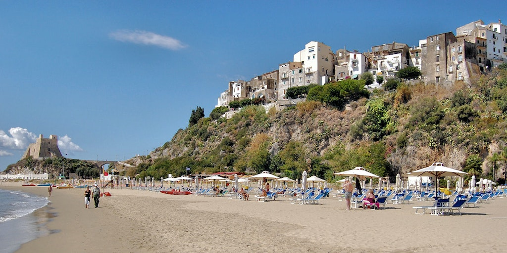 Sperlonga on the coast of Lazio