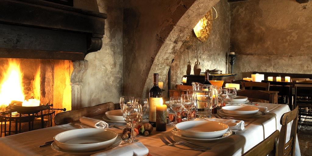 Das Restaurant Locanda Sotto Gli Archi