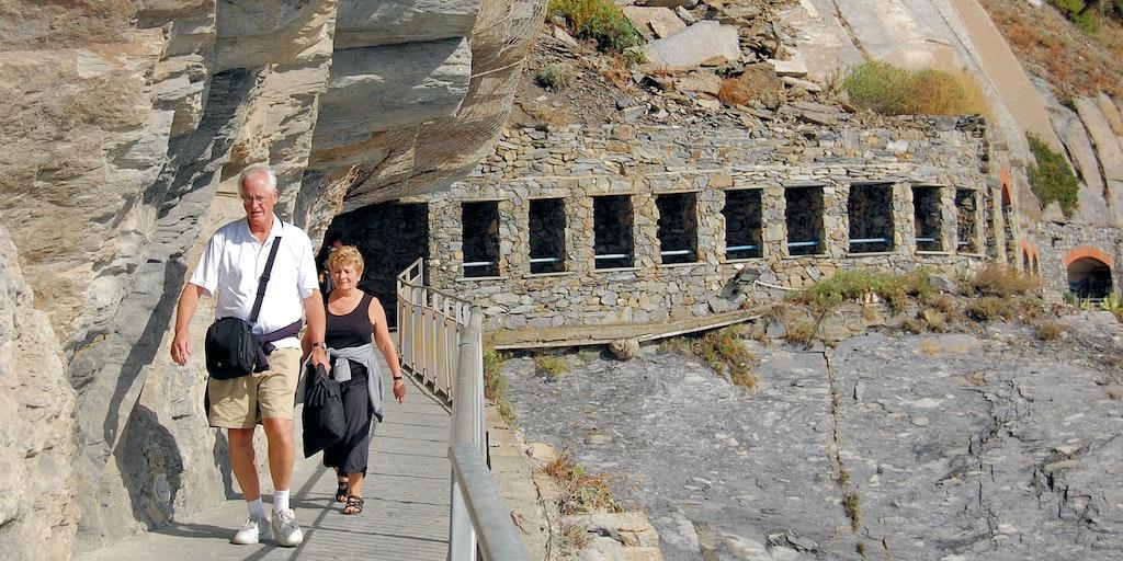 The Via dell'Amore in Cinque Terre
