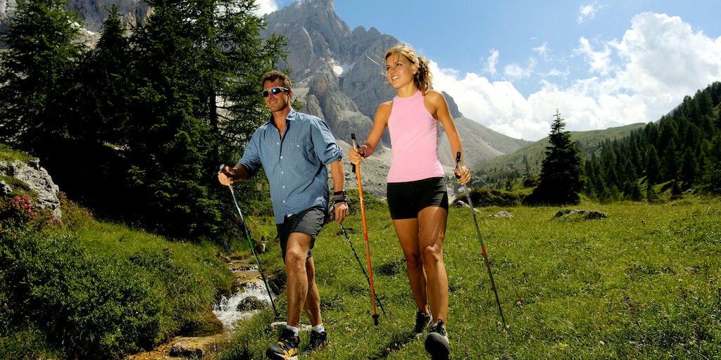 Dolomiterna i Sydtyrolen bjuder på fina möjligheter till aktiv semester