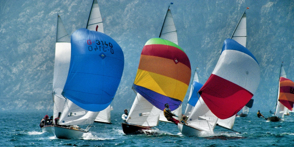 Great possibilities for windsurfing at the northern end of Lake Garda (especially at Torbole)