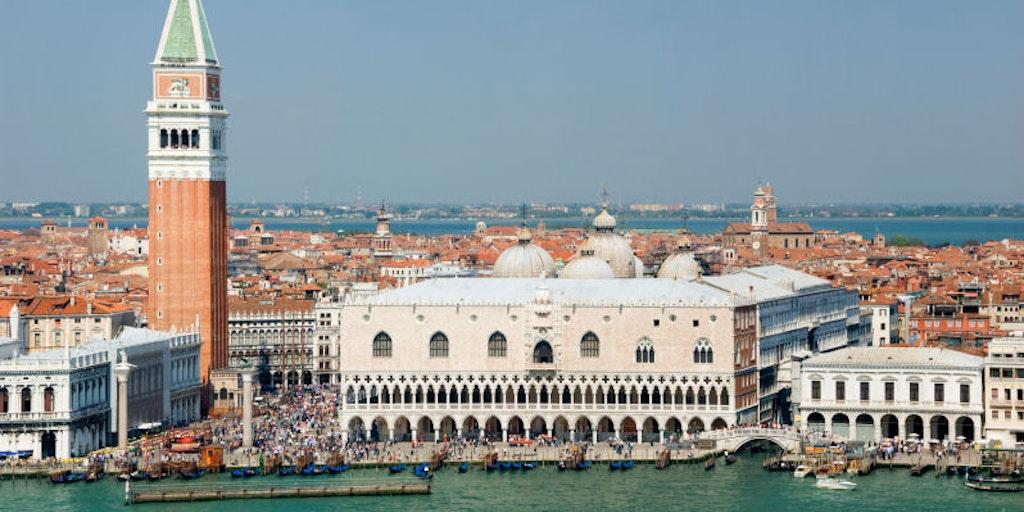 Le Palais des Doges à Venise