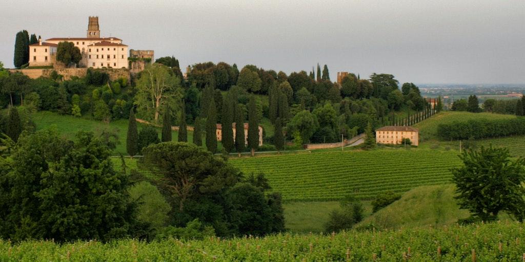 Betagende vinlandskaber byder Veneto også på