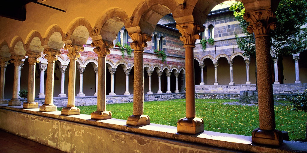 Beautiful cloister