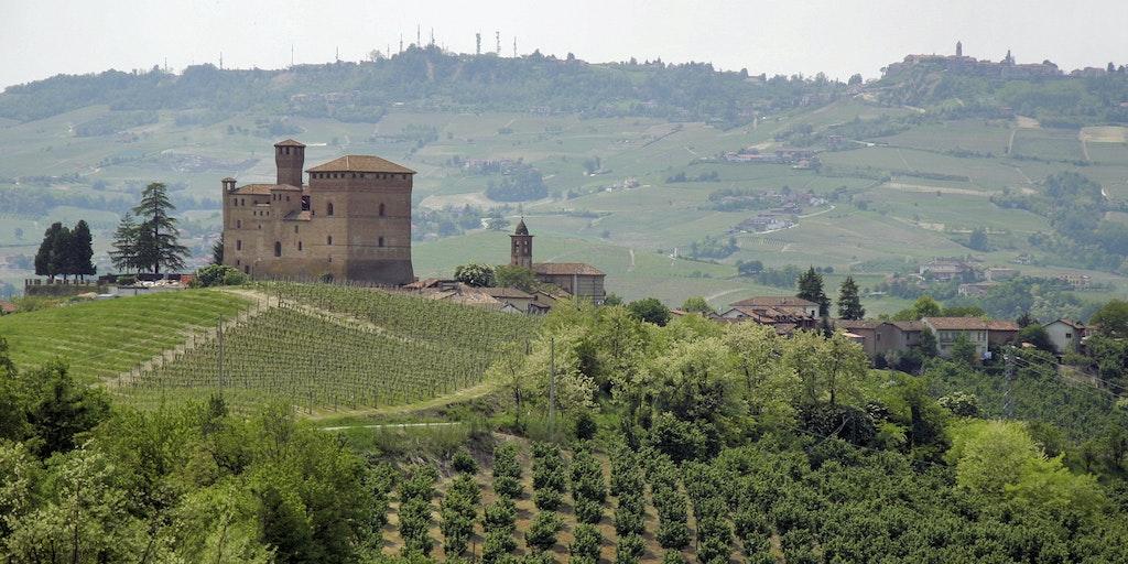 Borgfæstningen Grinzane Cavour