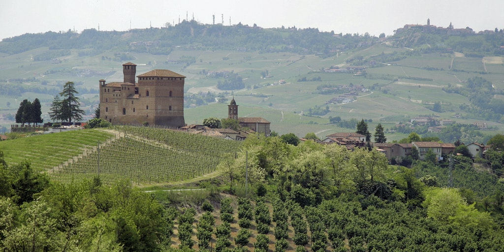 Borg fortress Grinzane Cavour